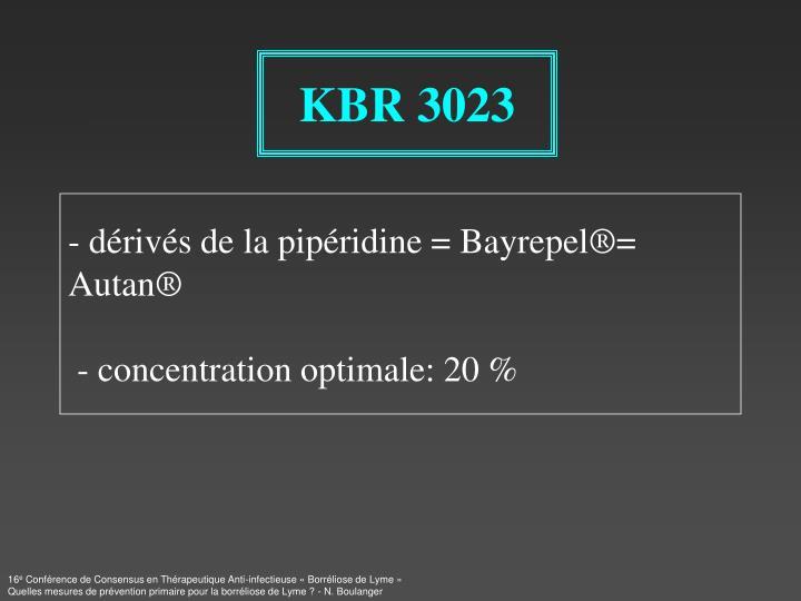 KBR 3023
