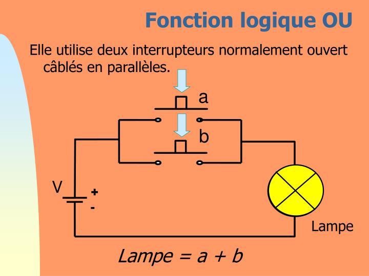 Fonction logique OU