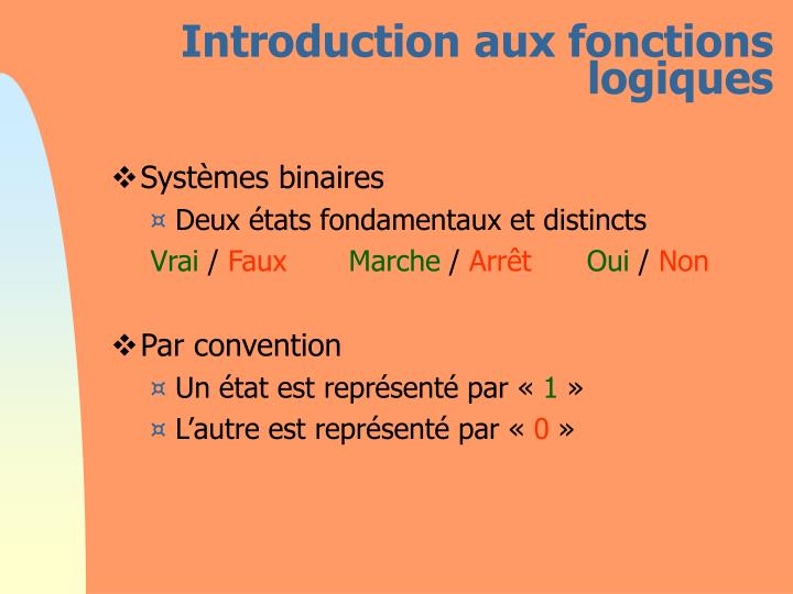 Introduction aux fonctions