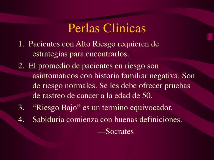 Perlas Clinicas