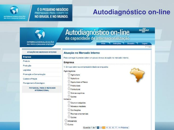 Autodiagnóstico on-line