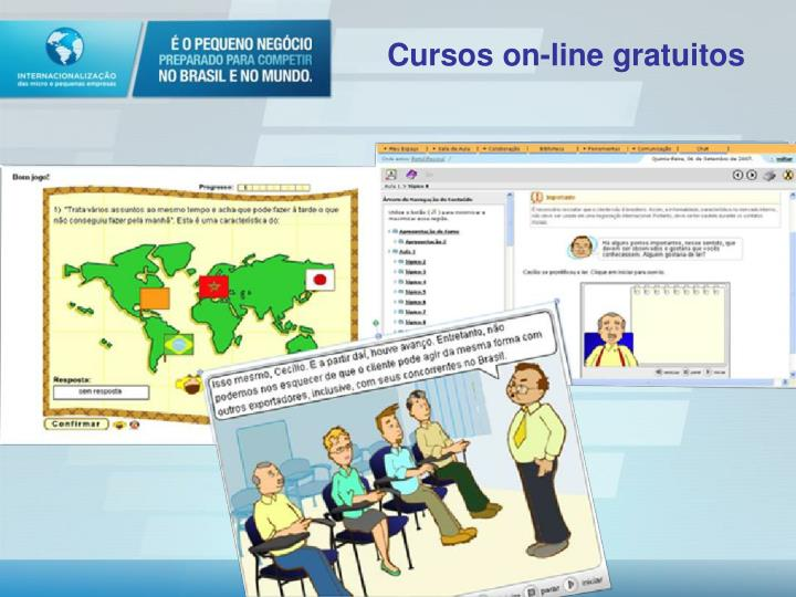 Cursos on-line gratuitos