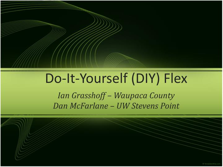 Do it yourself diy flex l.jpg