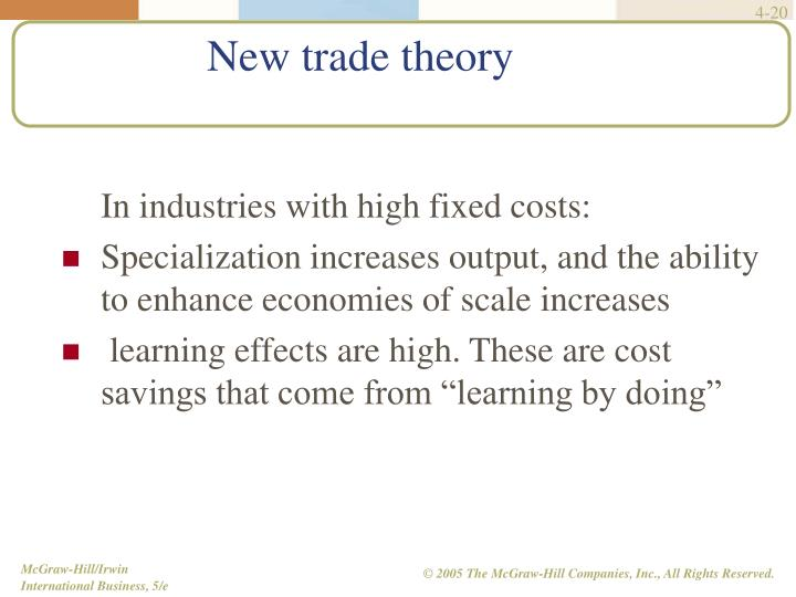 In industries with high fixed costs:
