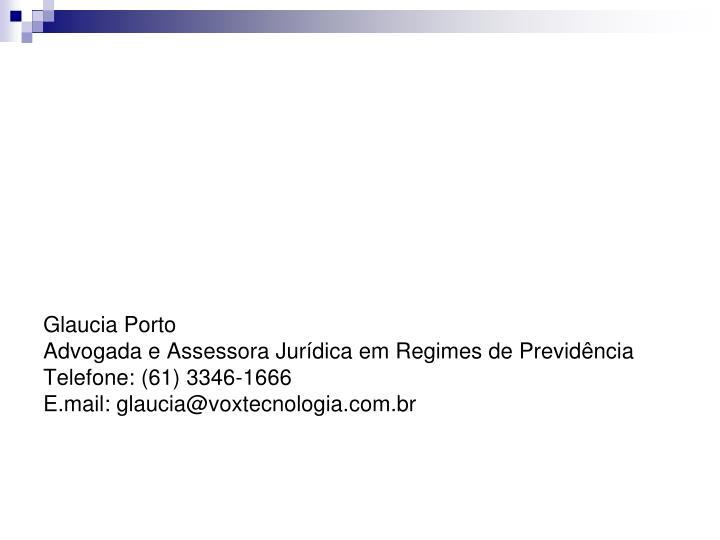 Glaucia Porto