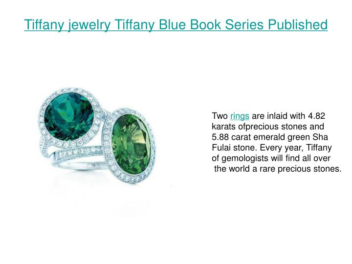 Tiffany jewelry tiffany blue book series published3