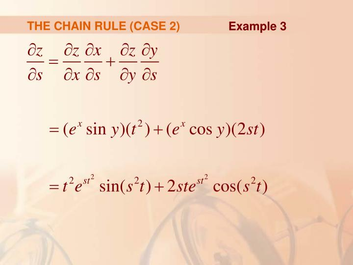 THE CHAIN RULE (CASE 2)