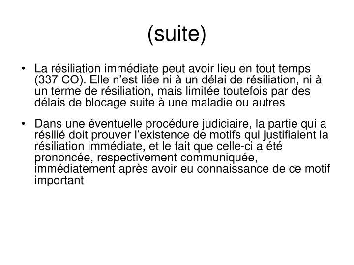 (suite)