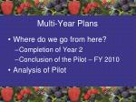 multi year plans1