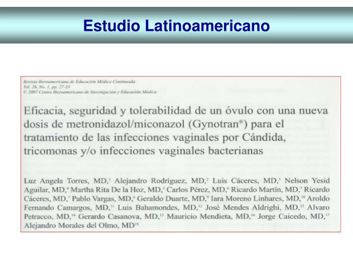 Estudio Latinoamericano