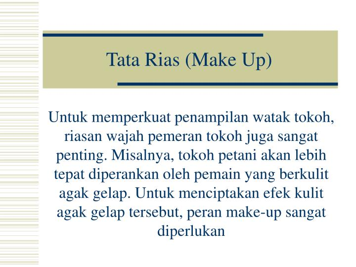 Tata Rias (Make Up)