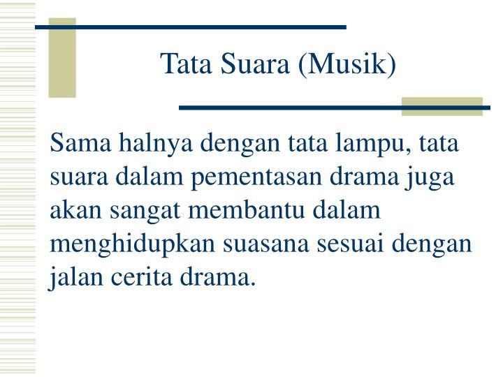 Tata Suara (Musik)