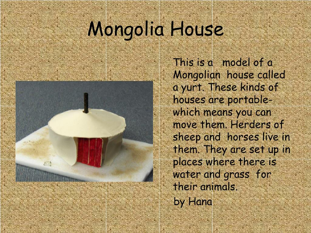 Mongolia House