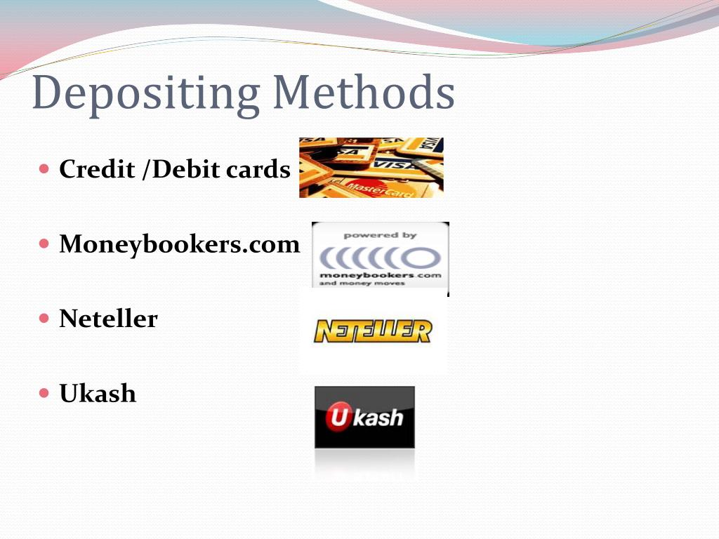 Depositing Methods