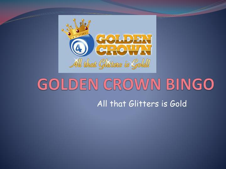 Golden crown bingo