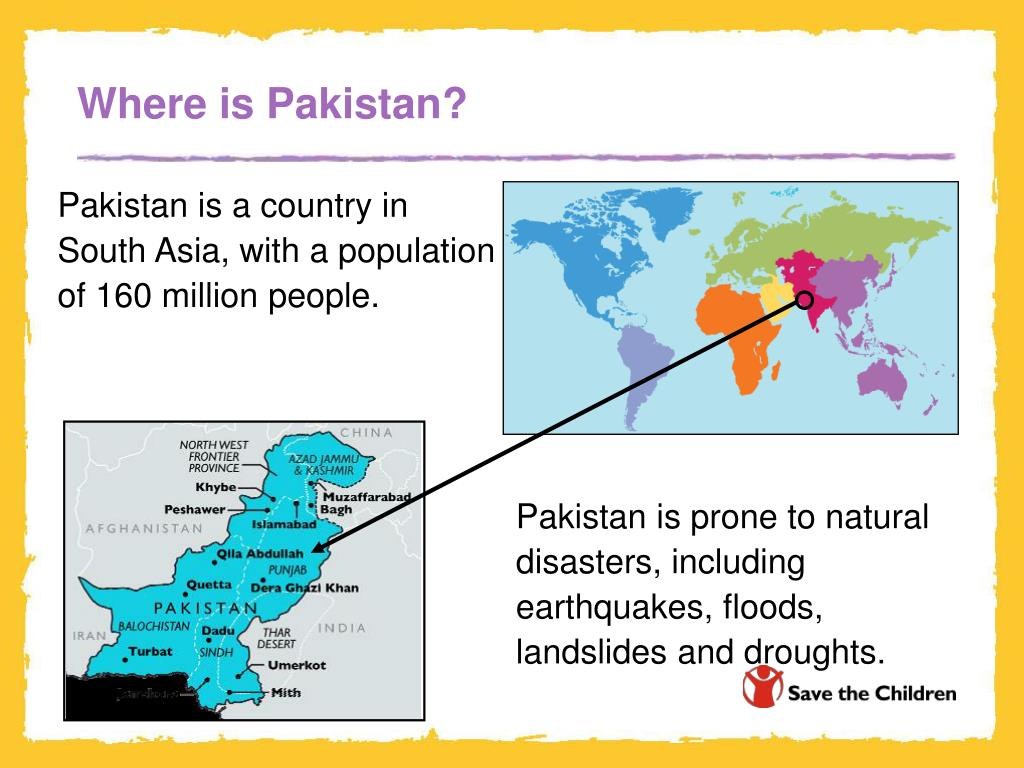 Where is Pakistan?