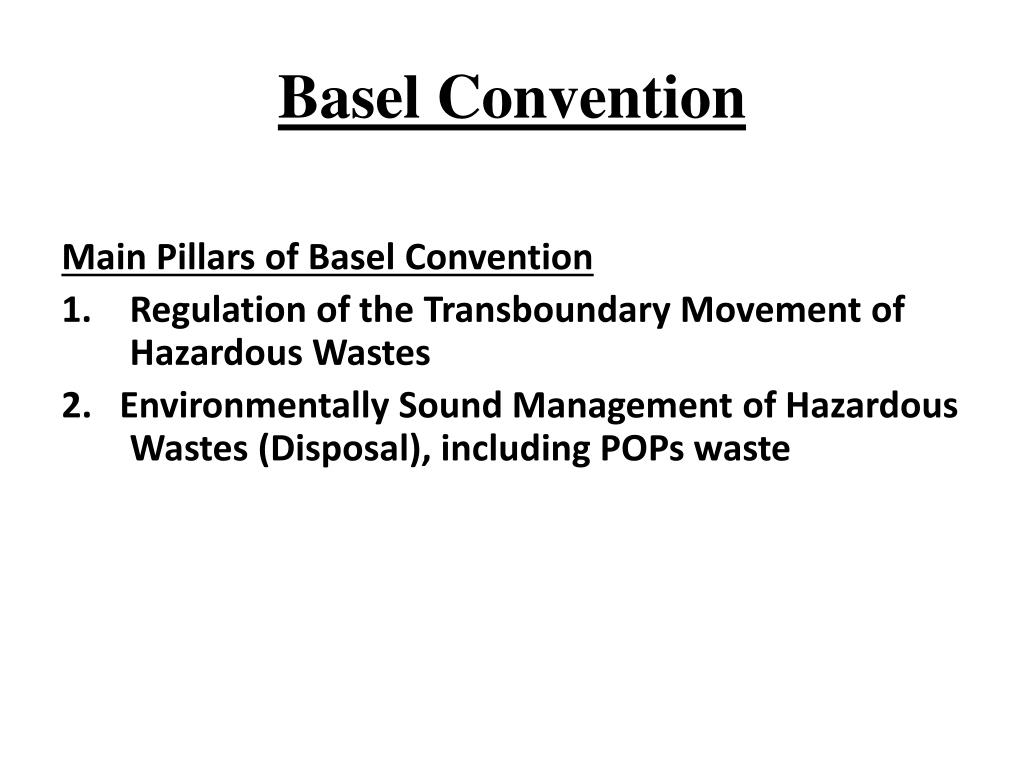 Basel Convention