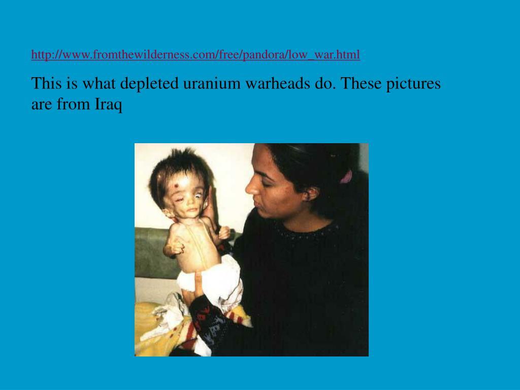 http://www.fromthewilderness.com/free/pandora/low_war.html