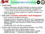 collaborations funding