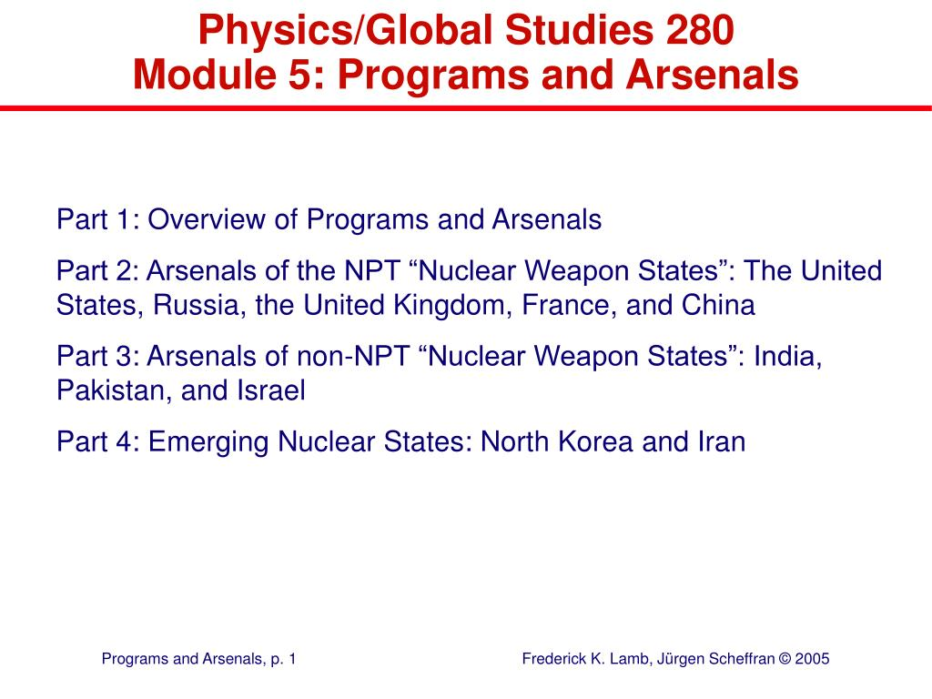 Physics/Global Studies 280
