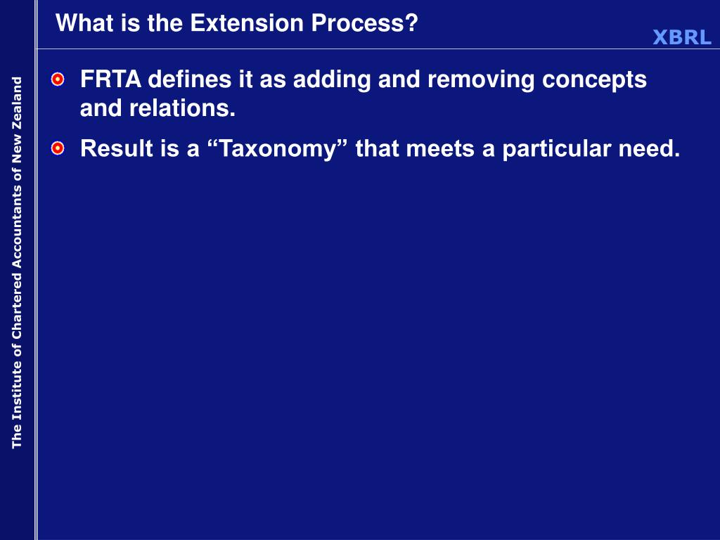 What is the Extension Process?