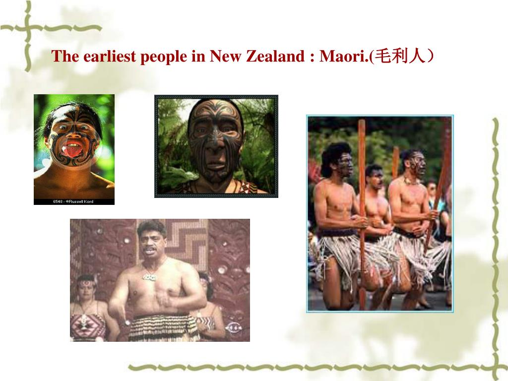 The earliest people in New Zealand : Maori.(