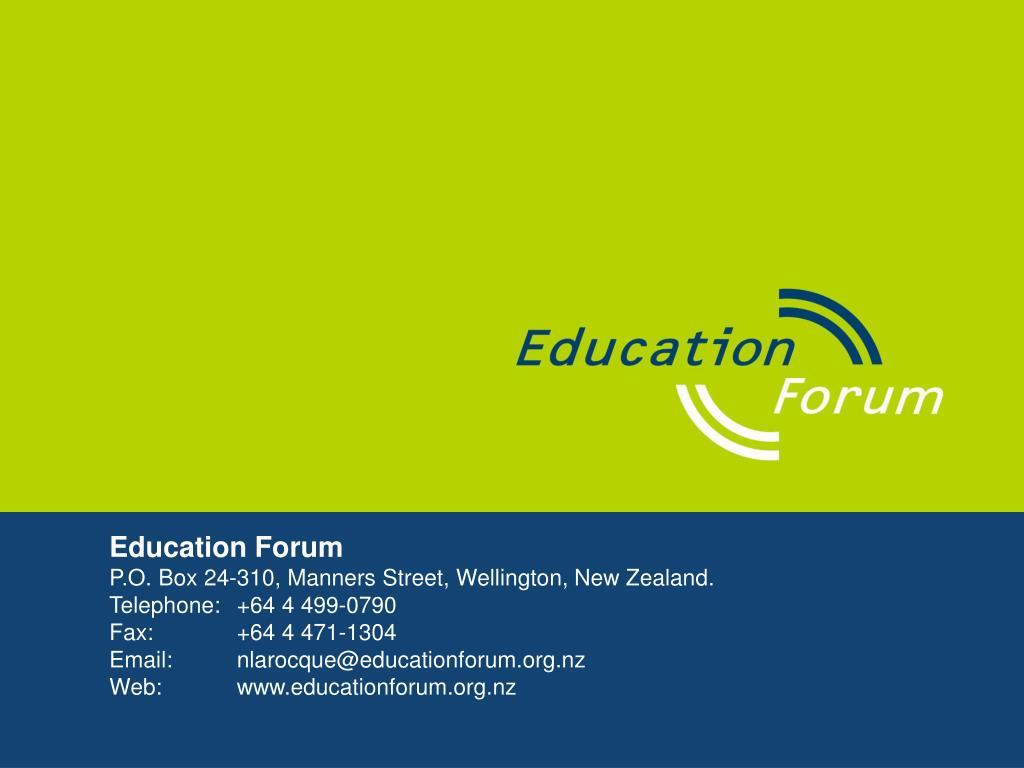 Education Forum
