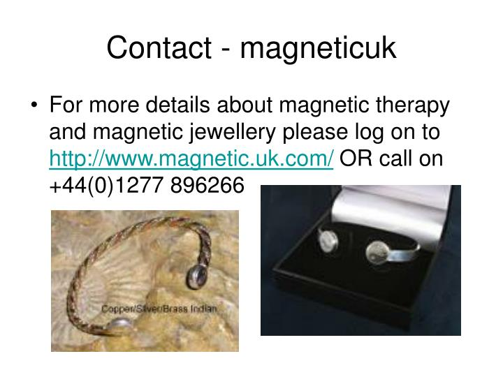 Contact magneticuk