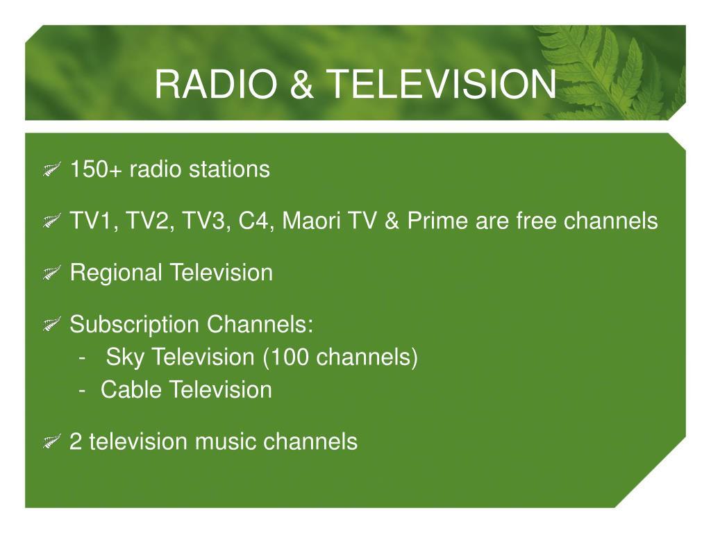 150+ radio stations