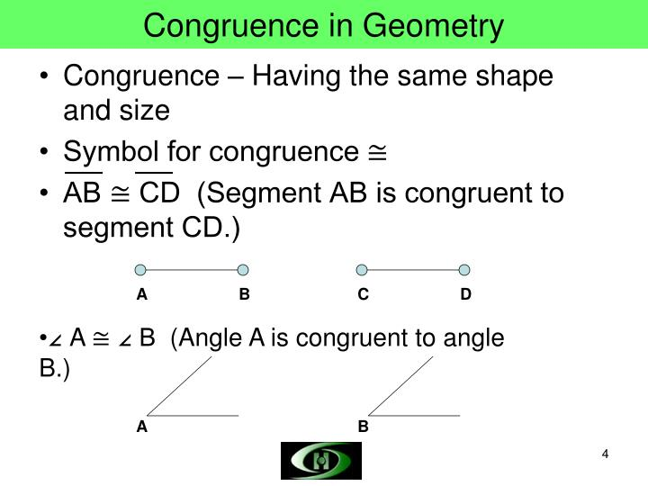 Congruence in Geometry