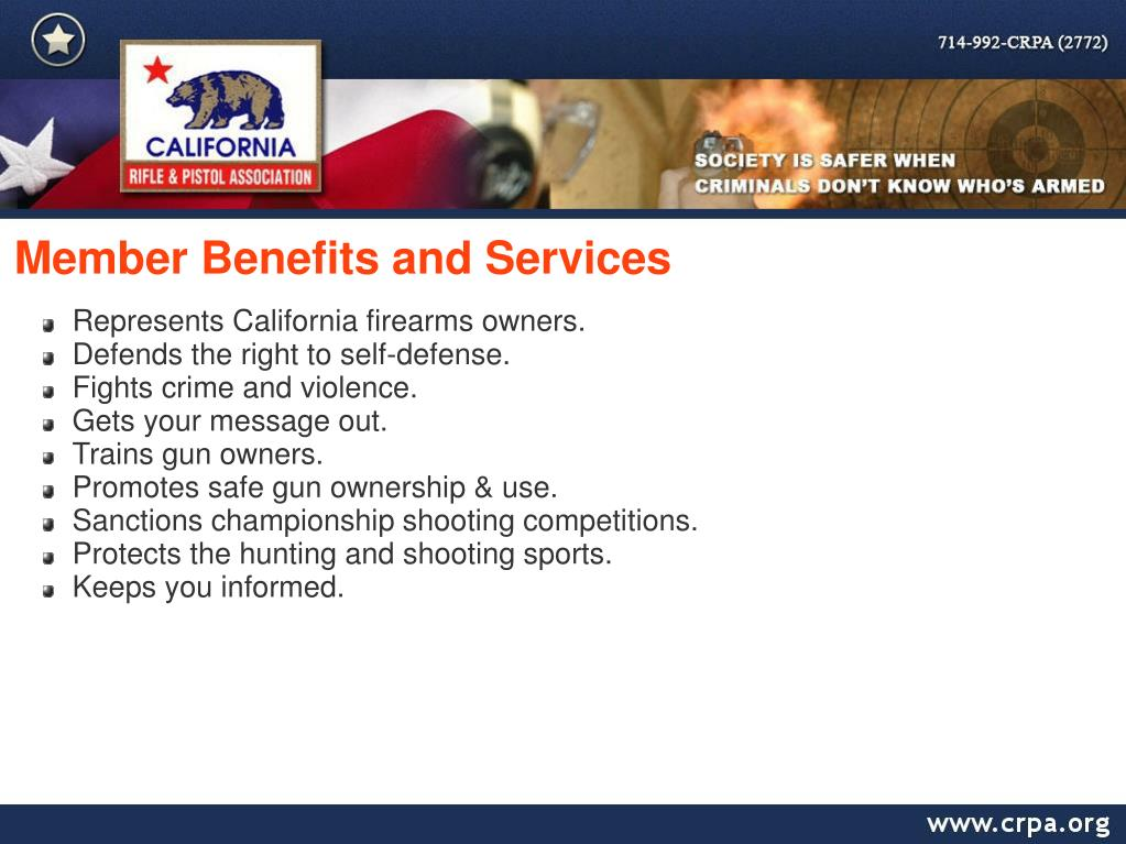 Member Benefits and Services