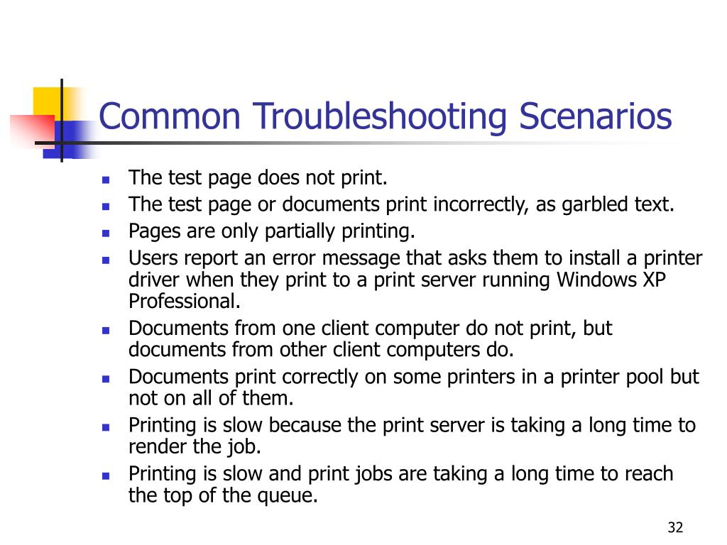 Common Troubleshooting Scenarios