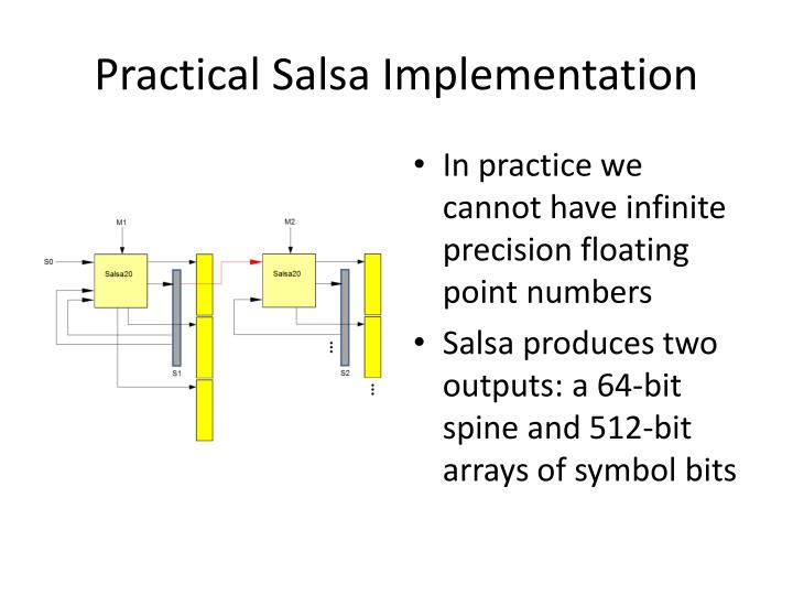 Practical Salsa Implementation