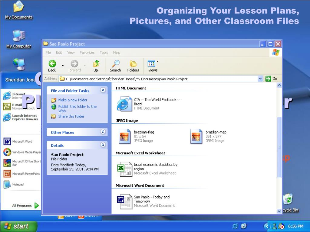 Organizing Your Lesson Plans,