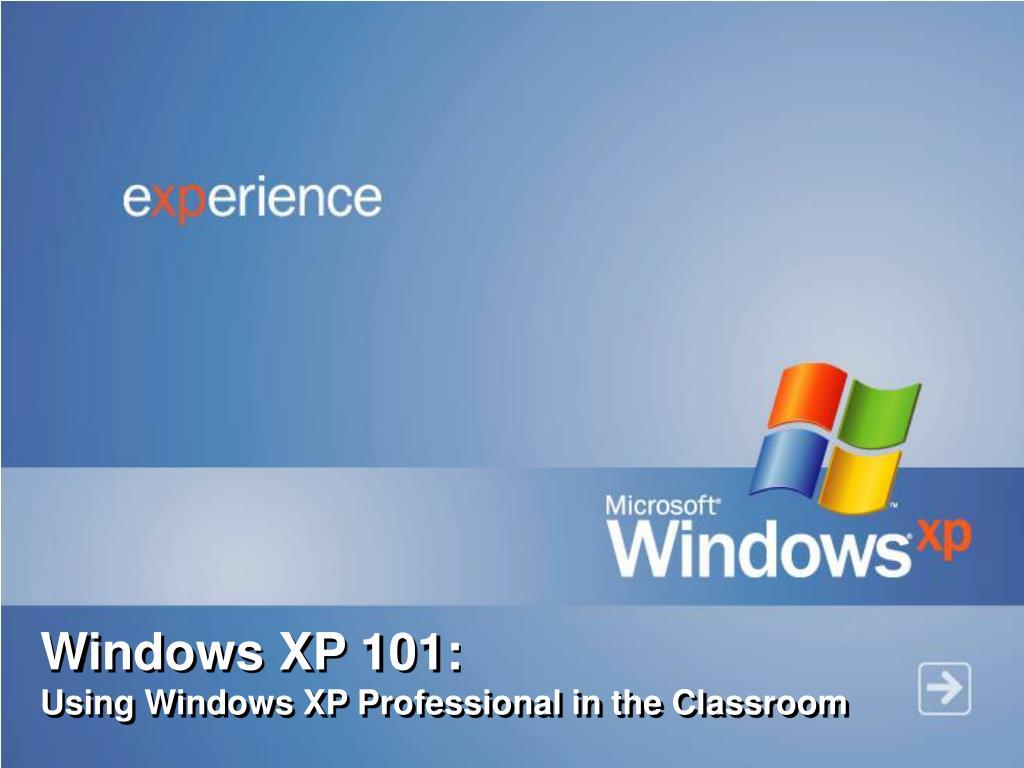 Windows XP 101: