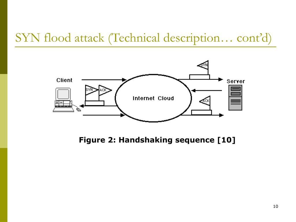 SYN flood attack (Technical description… cont'd)