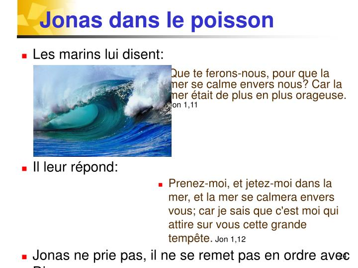 Jonas dans le poisson