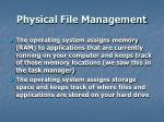 physical file management