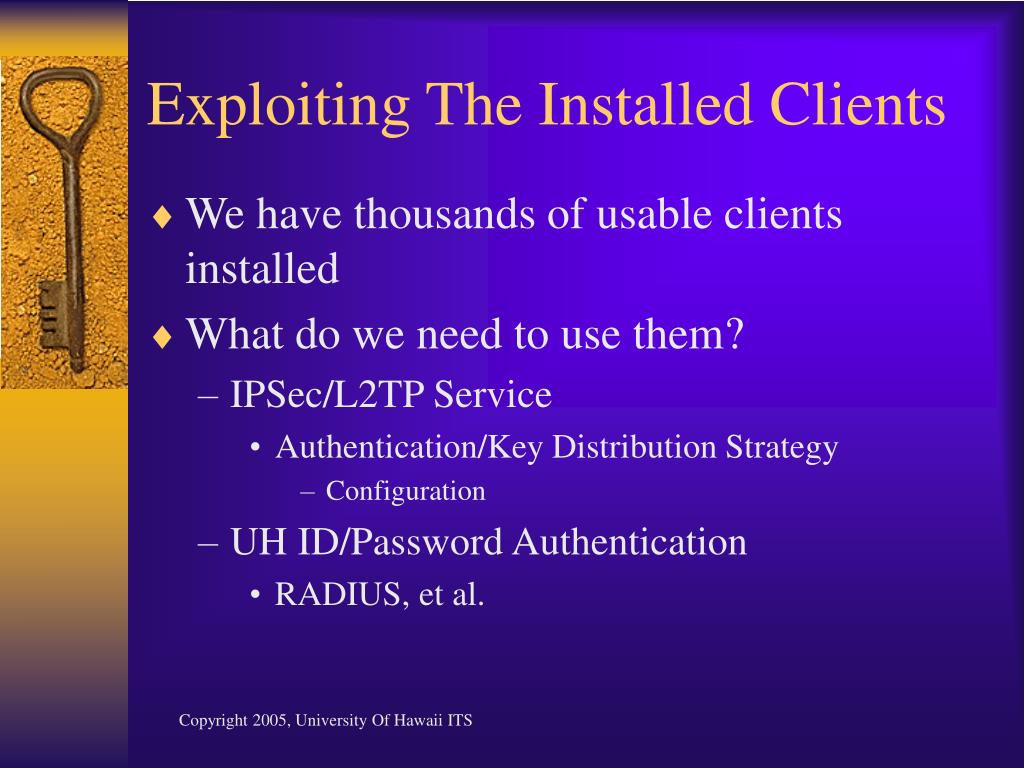 Exploiting The Installed Clients