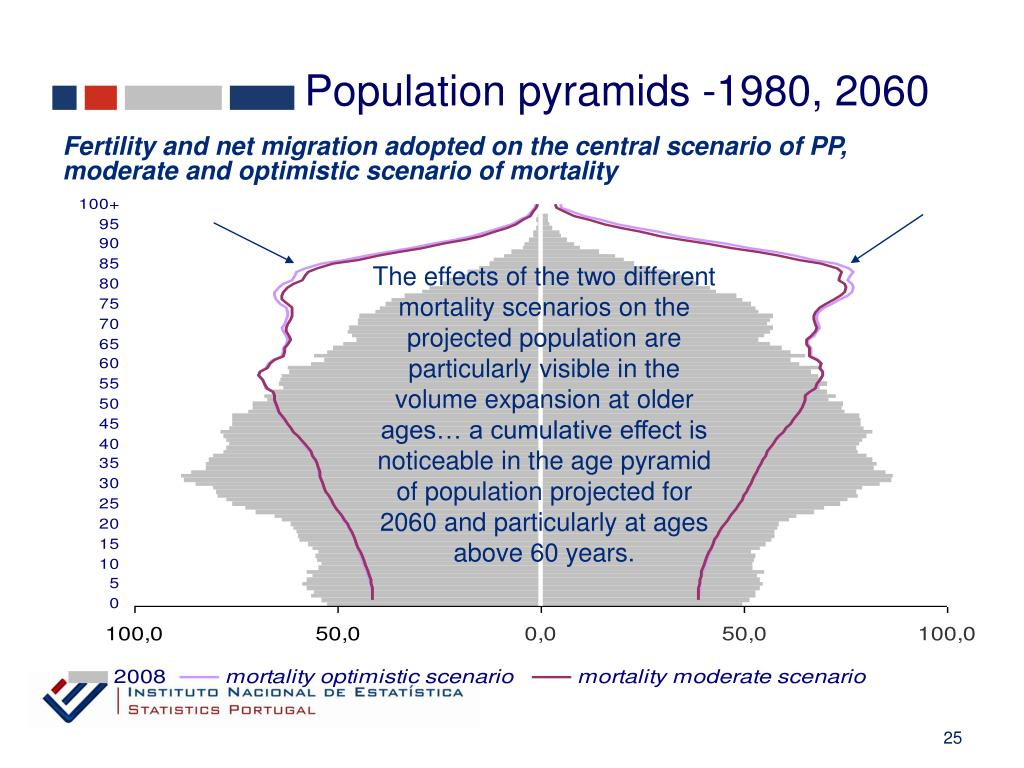 Population pyramids -1980, 2060