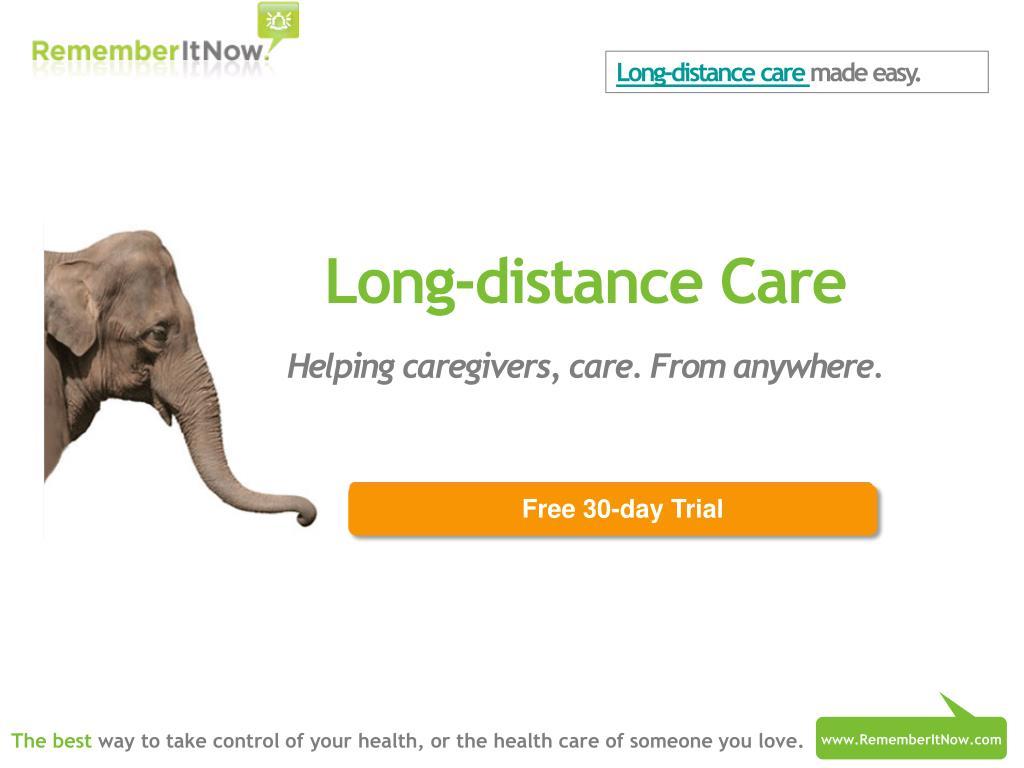 Long-distance care