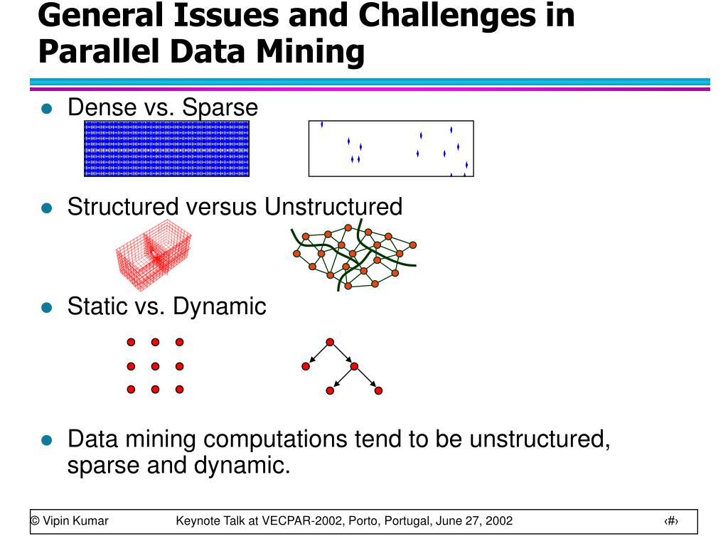 General Issues and Challenges in Parallel Data Mining