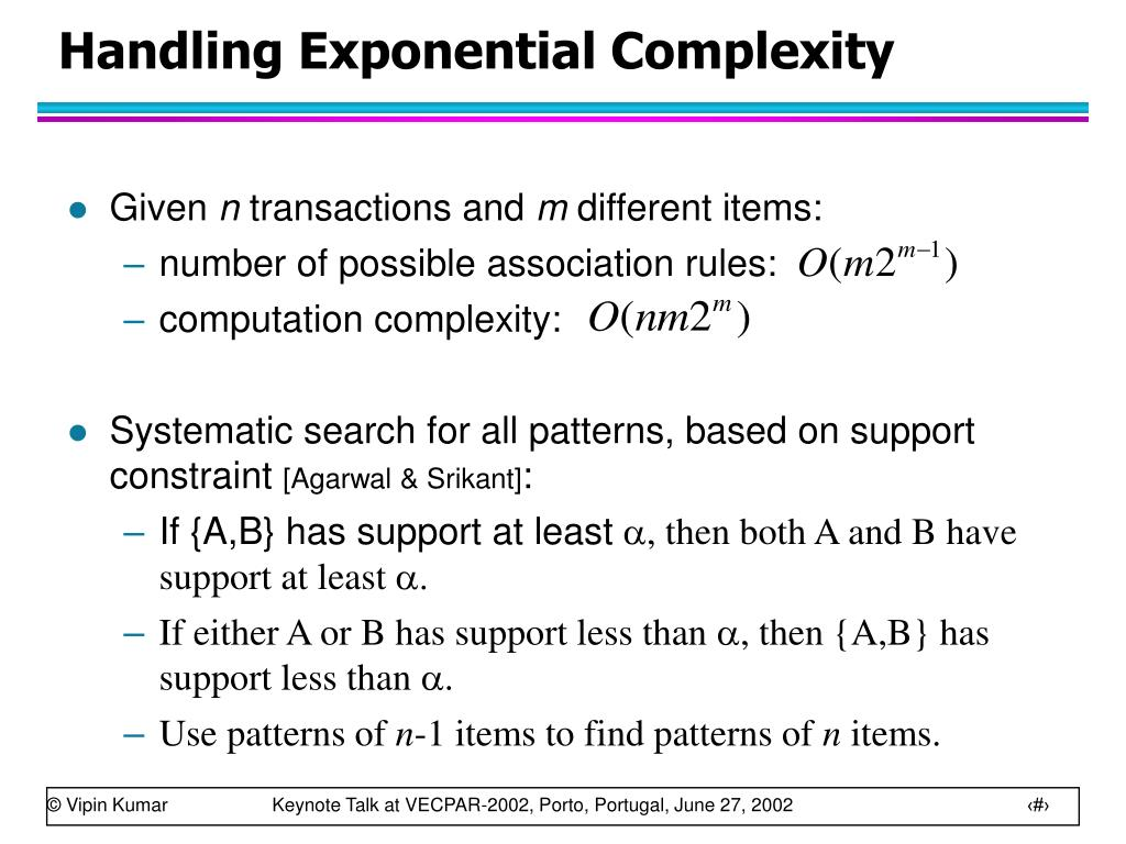 Handling Exponential Complexity