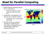 need for parallel computing63