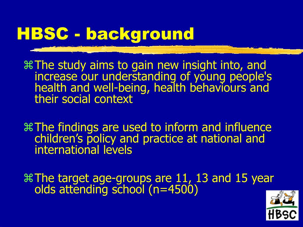 HBSC - background
