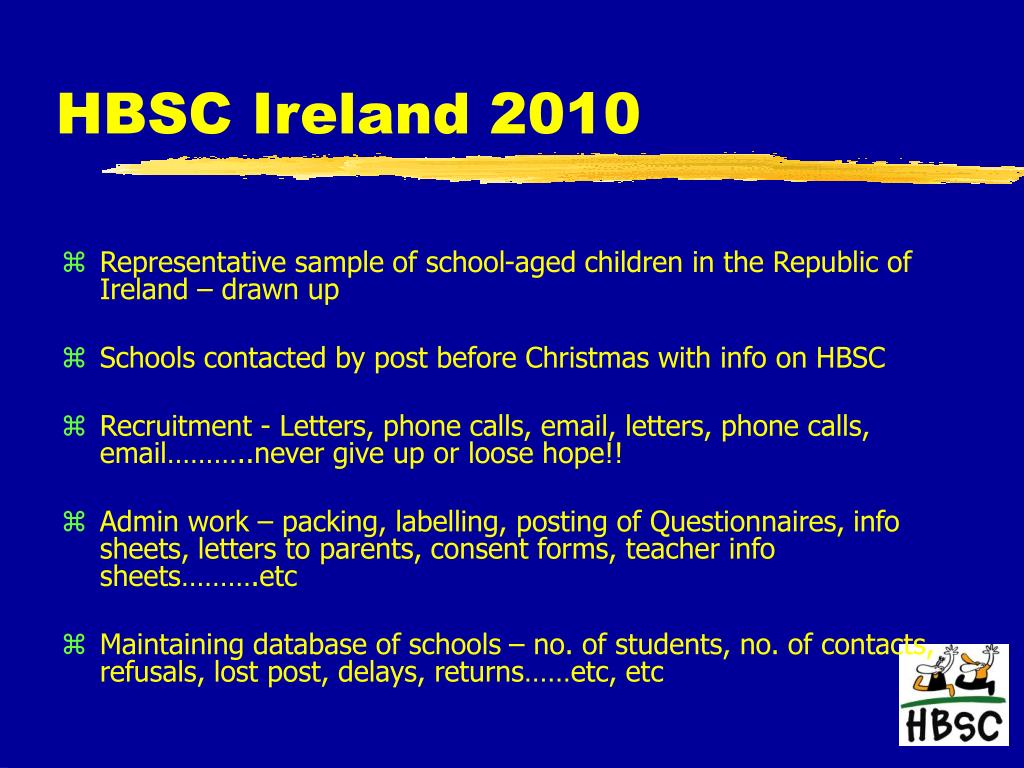 HBSC Ireland 2010
