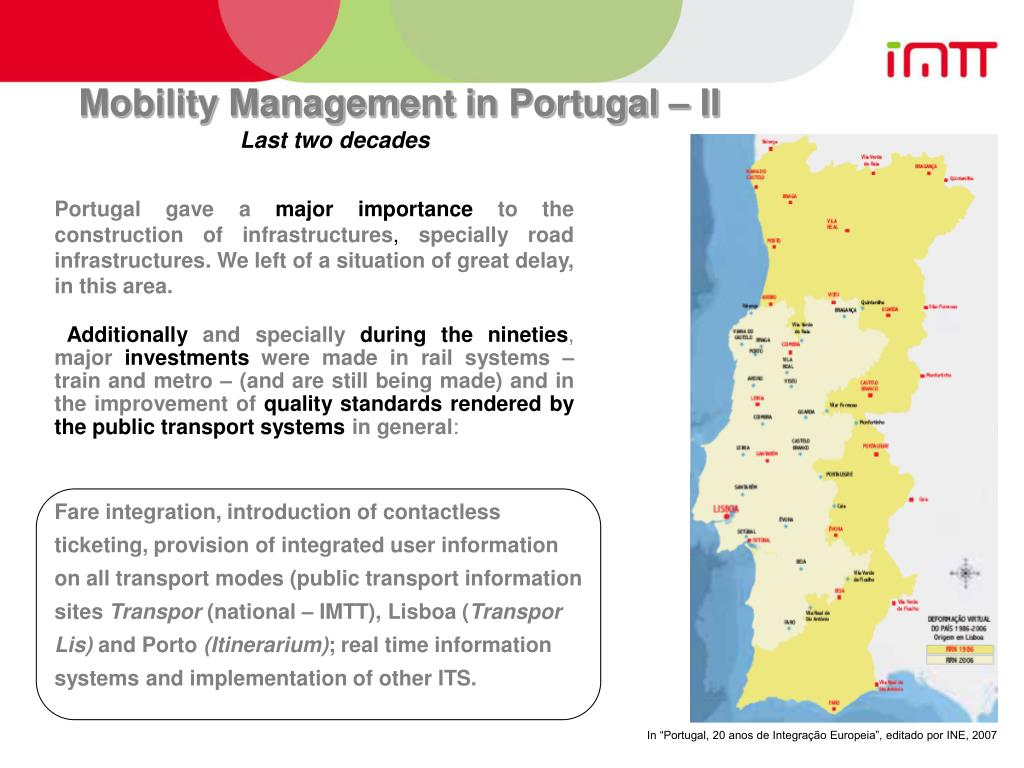 Mobility Management in Portugal – II