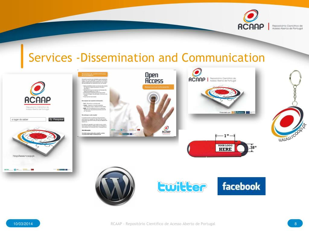 Services -Dissemination and Communication