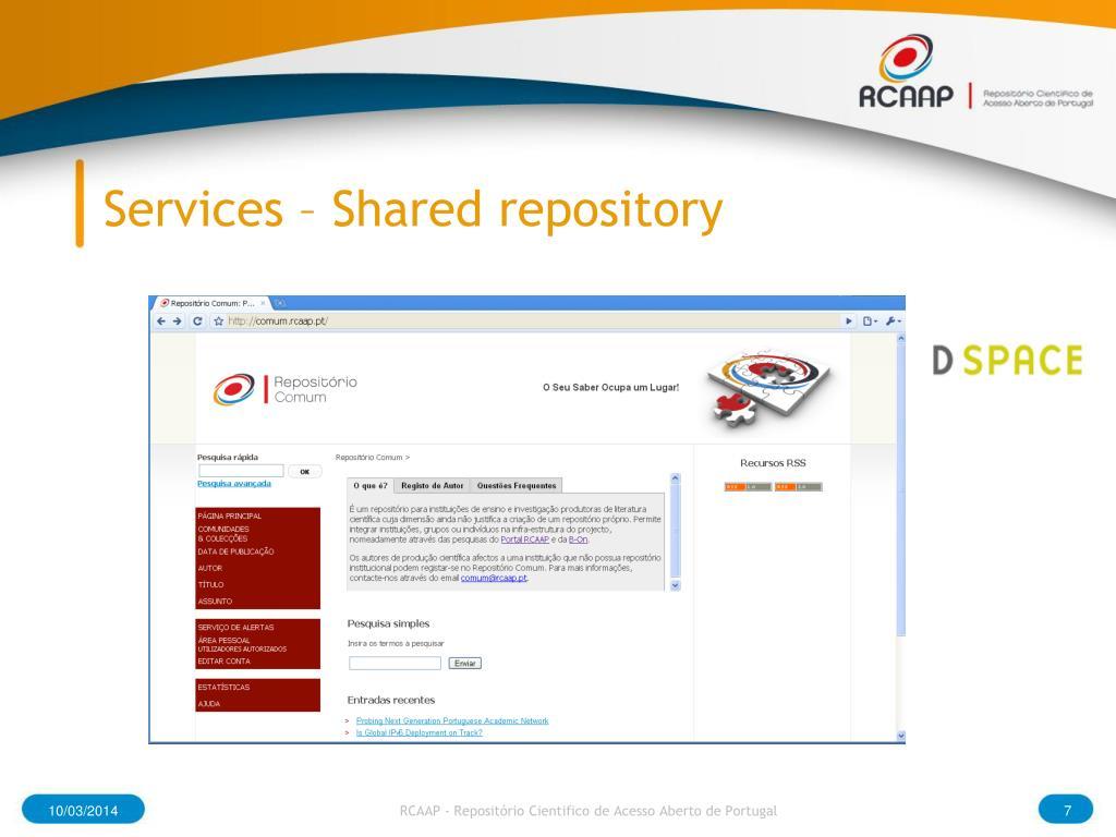 Services –