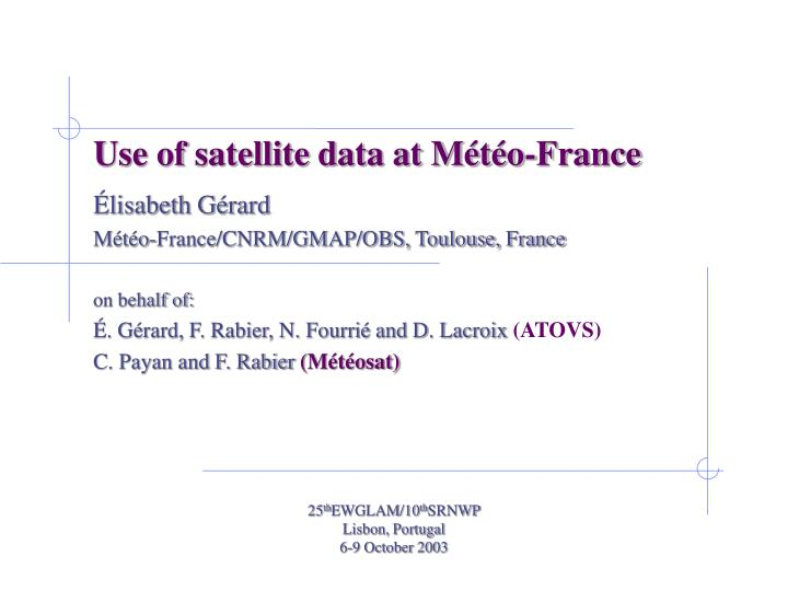 Use of satellite data at m t o france l.jpg